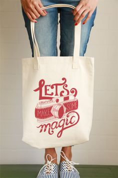 Lets Make Some Magic Tote Bag - Photo Gifts for photographers
