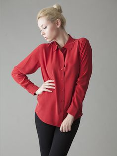 8329c16462def6 25 Best Products images | Silk blouses, Cassie, Dyed silk