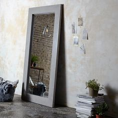 A mirror can instantly transform any room, using light to create a sense of space. Take a look at our pick of the best mirrors available to buy now online Interior Design Courses Online, Interior Design Programs, Cool Mirrors, Small Mirrors, Mirrored Bifold Closet Doors, Interior Columns, Interior Doors, Full Body Mirror, Ikea Mirror