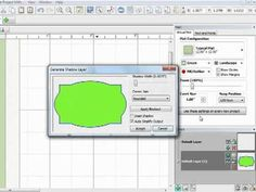 This video tutorial demonstrates how to create nested shapes in Make the Cut to be cut on your electronic cutting machine.  The shapes can be used in cardmaking, scrapbooking or any other crafting projects.