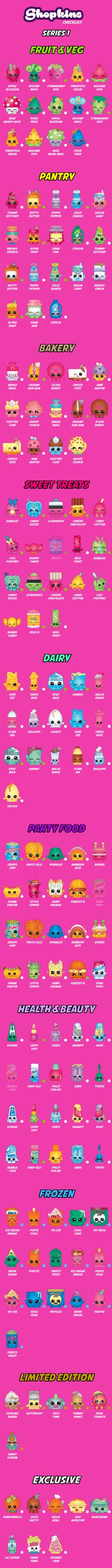 out my Shopkins Collection - Get the Shopkins Checklist app on iOS and Android App Stores!Check out my Shopkins Collection - Get the Shopkins Checklist app on iOS and Android App Stores! Shopkins Checklist, Shopkins List, Bolo Shopkins, Shopkins Season 1, Shopkins World, Shopkins Bday, Free Shopkins, Party Fiesta, Ideas Party