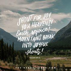 Today's Text: Isaiah 48:1-22, Isaiah 49:1-26, Colossians 1:13-14, Hebrews 4:12