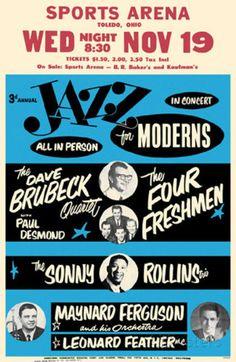 Jazz for Moderns マスタープリント