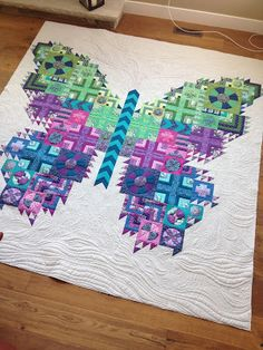 The Tula Pink Butterfly Quilt - pic heavy (Millions of Thoughts at Urban…