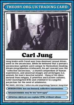 Theorists Trading Cards - theorycards.org.uk  Carl Jung