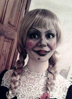 Annabelle Halloween Makeup                                                                                                                                                                                 More