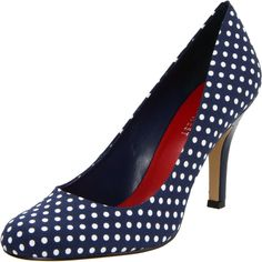 Blue Polka Dot Shoes- Swoon