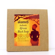 African black soap 130g. Traditionally handcrafted & fairly traded with Women's co operatives in Ghana. Made with 50% pure, organically grown shea butter & wildcrafted coconut oil. The lye that is used in the saponification process, is made from the ash of dried cocoa pods.    No chemicals, preservatives, colour enhancers or fragrances added to the recipe. The black colour of the soap is a result of the saponification process which it undergoes. It is completely free from black dyes…