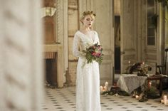 N. Cleo - The deer confidences - Wedding Inspiration nature and raspberry - The married barefoot