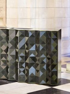 Louvres Desk by Giles Miller Studio
