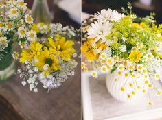 Paleta de cores para casamento: Amarelo + Branco  http://www.blogdocasamento.com.br/paleta-de-cores-amarelo-e-branco/