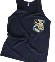 Delta Shop - Navy Pocket Tank - embroidered with silver/gray Deltas on the pocket Moving To Florida, Tri Delta, Lil Sis, Pearl White, Letter, Pocket, Gray, My Style, Silver