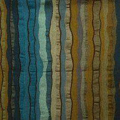 Peacock Blue Upholstery Fabric Yardage