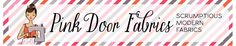 Welcome | Pink Door Fabrics - Just posted Pink Door Fabrics Etsy Fabric Shop on this page - This is their website with links to their fabric and to their blog, contact info, etc