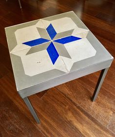 Mesa Bonita has been collecting hydraulic tiles for the past 10 years. All the tiles have been saved from the city dumpsters and desperately need a second life. They can be turned into a pretty table, console, nightstand, frame, trivet, coaster… Contact me for information, I have a wide selection of styles and colors and a whole bunch of ideas: Benedicte Bodard  Mesa Bonita/Barcelona Tiles benedictebodard@gmail.com www.mesabonita.es https://www.pinterest.com/bbodard/