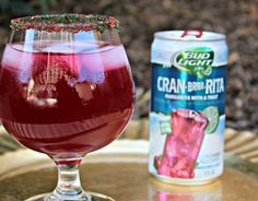 Celebrate the Holidays with a Bud Light Lime Cran Brrr Rita