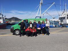 El equipo de #TurismoSantoña con el programa de TVE aquí la tierra que estuvo grabando hoy en #Santoña para mostrar nuestra villa