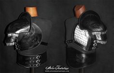 leather fantasy scale armor