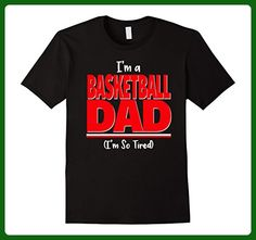 Mens Funny Basketball Dad Shirt - I'm So Tired T-Shirt 3XL Black - Relatives and family shirts (*Amazon Partner-Link)