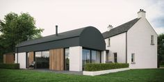 Bespoke Home Design & Commercial Projects - McAleenan NI Barn Renovation, Farmhouse Renovation, Modern Farmhouse Exterior, Cottage Exterior, Barn Conversion Exterior, Barn House Conversion, Barn Conversions, Bungalow House Design, Cottage Design