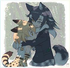 Anime Wolf, Anime Neko, Kawaii Anime, Anime Guys, Cute Anime Character, Character Art, Character Design, Sword Art Online Kirito, Art Manga