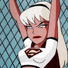 """, League of Arts, League of Arts Supergirl: ""Justice League Unlimited. Cartoon Kunst, Cartoon Icons, Girl Cartoon, Cartoon Art, Cute Cartoon, Cartoon Wallpaper, Disney Wallpaper, Cartoon Profile Pics, Cartoon Profile Pictures"