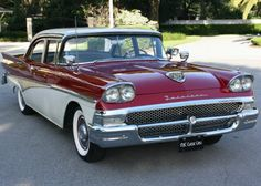 1958 Ford Fairlane 500 Town Sedan American Stock, American Auto, Ford America, Victoria Police, Panel Truck, Ford Lincoln Mercury, Ford Classic Cars, Ford Fairlane, Vintage Cars