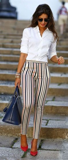 Office & work outfits ideas for women, office outfits women young professional business casual & office wear women work outfits business fashion classy. Stylish Summer Outfits, Casual Work Outfits, Work Casual, Casual Summer, Women's Casual, Style Summer, Casual Clothes, Summer Work Outfits Office, Clothes Women