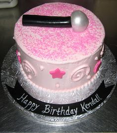 Rock Star Birthday Cake