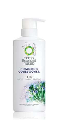 Herbal Essences Naked - Cleansing Conditioner  (great alternative to shampooing which strips hair of color and nutrients... also a cost effective alternative to the Wen cleansing conditioner).