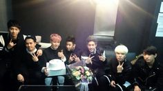 #GOT7 the 1st album Showcase We love you, NAVER STARCAST for celebrating our comeback and Yugyeom's birthday!!