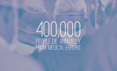 Medical error is the number three killer in the United States. As many as 440,000 people die annually from medical errors in hospitals. Learn how you can protect yourself. #PatientSafety #Health