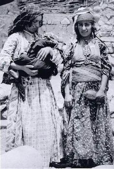South of Kurdistan; Jewish kurdish women.  1934