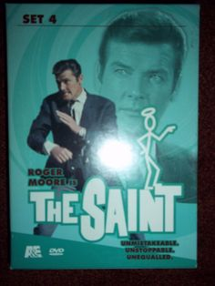 The Saint DVD Set 4 Roger Moore in DVDs & Movies, DVDs & Blu-ray Discs | eBay International Man Of Mystery, Fight For Justice, Roger Moore, Dvd Set, British Actors, Feature Film, Top Rated, Bond, Saints