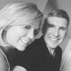 Todd Chrisley With His Beloved Wife Julie Chrisley