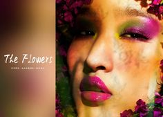 """The Flowers"" for Fashion Gone Rogue Photographer: Wang Yang  Makeup Artist: Li Dong Model: Li Ke"