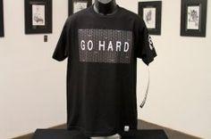 Go Hard Tee (black)