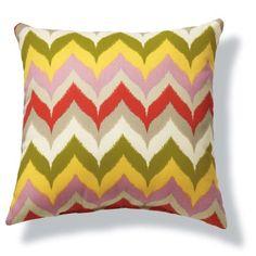 Zig Zag Outdoor Pillow l $25