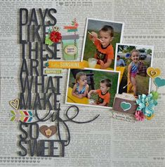 Days Like These *Simple Stories* - Scrapbook.com