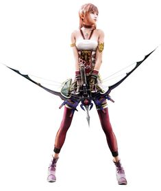 Serah - Characters & Art - Final Fantasy XIII-2