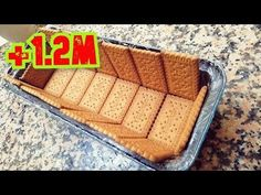 Chocolate Cake Without Oven No Bake Cookies, Cake Cookies, Cupcakes, Banana Recipes, Cake Recipes, Bolo Youtube, Cake Youtube, Cooking Forever, Eid Cake