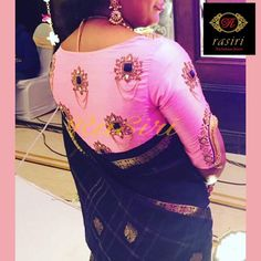 Find here the most unique blouse designs for south indian brides. From bird motifs to long sleeves, blouse for silk sarees to kanjeevarams, we have it all. South Indian Blouse Designs, Blouse Designs Silk, Kurta Designs, Blouse Patterns, Hand Work Blouse Design, Blouse Models, Fancy, Brides, Nike