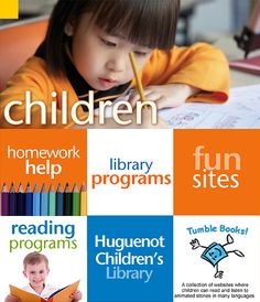 New Rochelle Library's Children's page