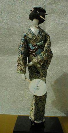 Traditional Washi Ningyo  (Paper doll)