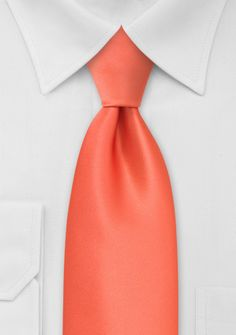 we want to use a coral orange color for our ties, this will be for the ties of the grooms, groomsmen and fathers of the grooms
