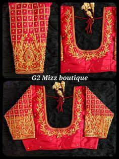 Kerala Saree Blouse Designs, Cotton Saree Designs, Simple Blouse Designs, Fancy Blouse Designs, Bridal Blouse Designs, Blouse Neck Designs, Hand Work Blouse Design, Designer Blouse Patterns, Blouses