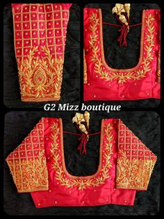 Hand Work Blouse Design, Simple Blouse Designs, Fancy Blouse Designs, Blouse Neck Designs, Kerala Saree Blouse Designs, Cotton Saree Designs, Wedding Saree Blouse Designs, Designer Blouse Patterns, Blouses