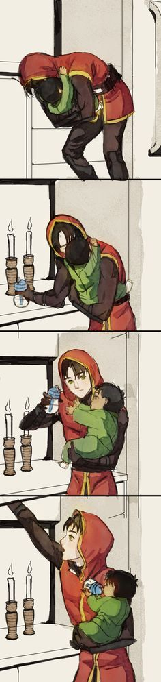 I've received an ask a while ago asking if I can make some kind of continuation for the first YJ Jason & Damian pic, where baby Damian wants cuddles when he starts to know Jason better. Batman Comic Art, Gotham Batman, Batman Robin, Marvel Dc Comics, Superman, Tim Drake, Nightwing, Batgirl, Aquaman