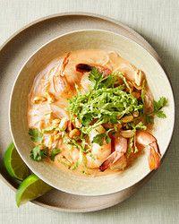 Curried Shrimp and Noodle Soup