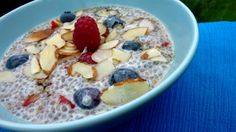Plenish's Super Breakfast Chia Pudding - big favourite here at Wilbur & Gussie Liver Healthy Foods, Healthy Fats, Healthy Desserts, Healthy Recipes, Healthy Eating, Liver Recipes, Detox Recipes, Detox Meals, Fatty Liver Diet